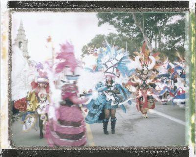 Dancers,,Carnival 2013,Instant Film,FujiFilm Fp100,Alan Falzon,Fotographija,Carnival Costumes