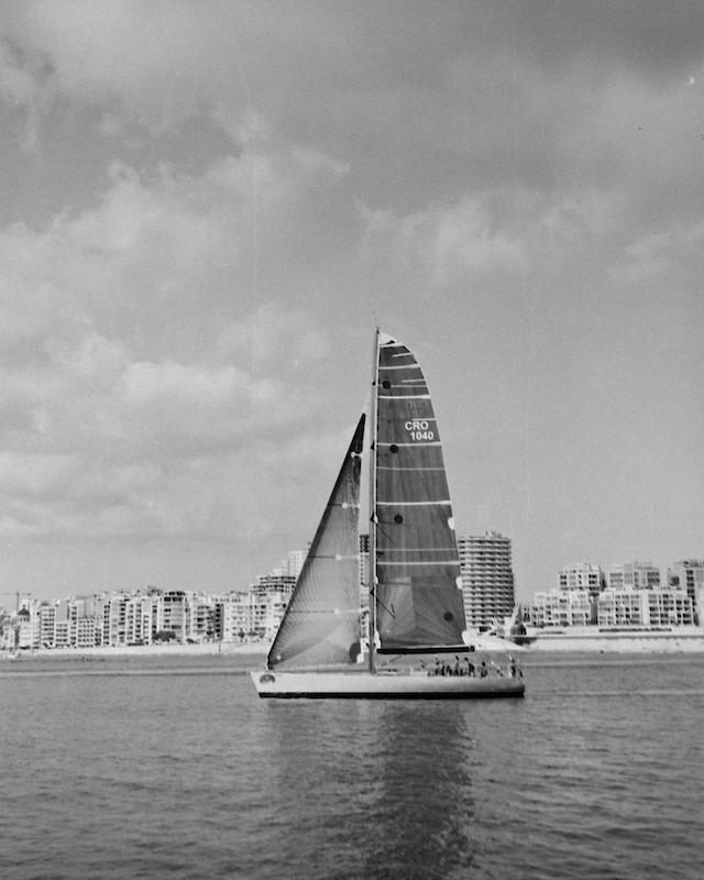Mamiya RB67,B&W,Rolex Middle Sea Race 2013