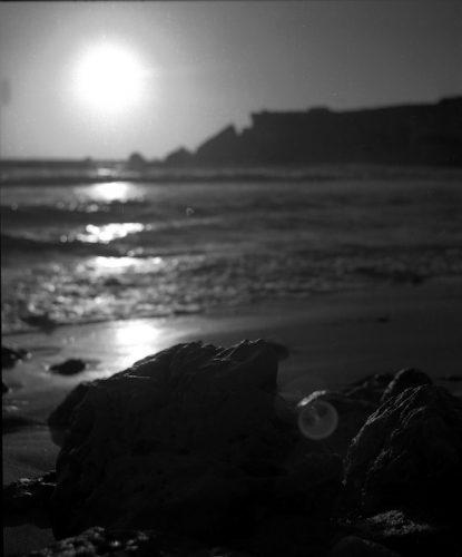 Golden Bay at Sunset