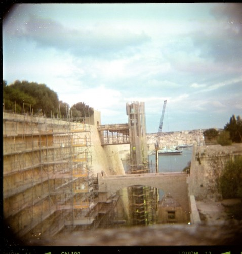 Holga, Valletta, Film, Capital City,Malta,TLR