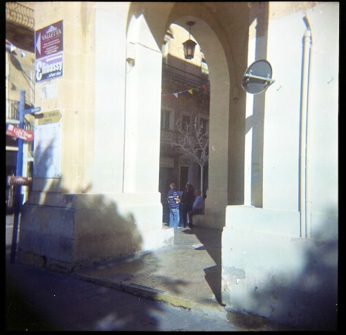 Holga, Valletta, Film, Capital City,Malta,TLR