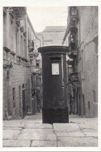 British Empire, Old Bakery Street, Malta, Pillar Box, Letterbox