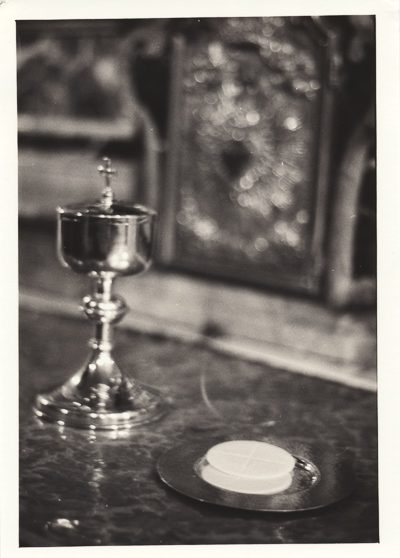 Chalice with Holy Communion