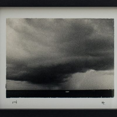 Small Boat, Escaping, Storm, Sliema, Grain, Alan Falzon, Fotographija, Hand Printed Exhibition, Silver Gelatin, Darkroom, Fine Art, Traditional, Hand Made, Unique Prints, Photography, Splendid, Valletta