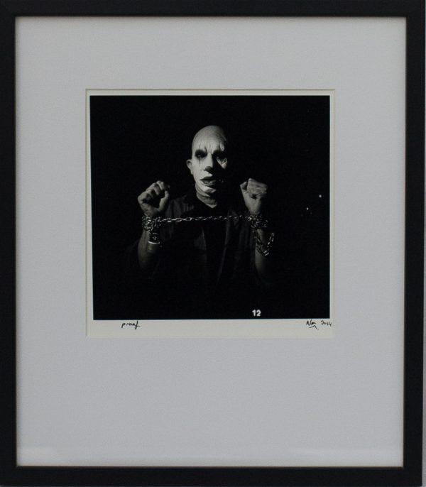 Realistic, Carnival, Costume, Prisoner, In Chains, Fotographija, Hand Printed Exhibition, Silver Gelatin, Darkroom, Fine Art, Alan Falzon, Traditional, Hand Made, Unique Prints, Photography, Splendid, Valletta