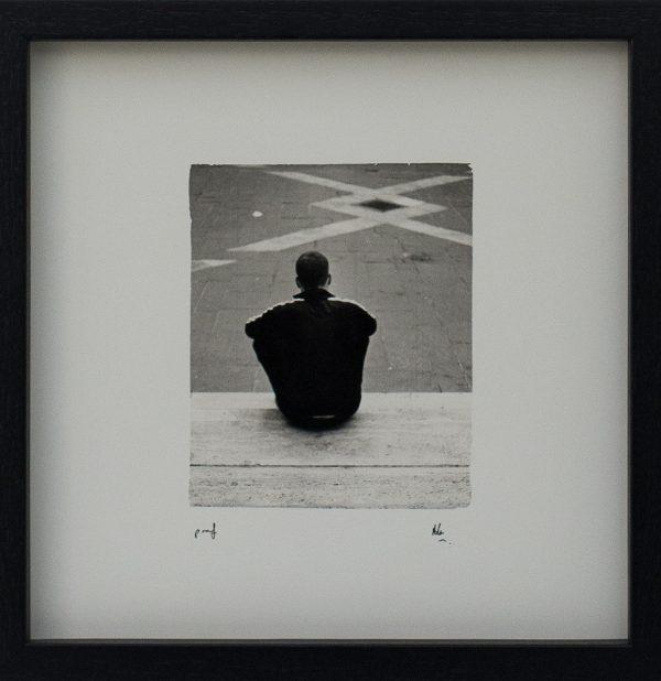Man, Waiting, Maltese Law Courts, Design, Lines, Shapes, Alan Falzon, Fotographija, Hand Printed Exhibition, Silver Gelatin, Darkroom, Fine Art, Traditional, Hand Made, Unique Prints, Photography, Splendid, Valletta