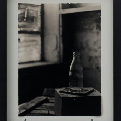 Maltese History, Milk Bottle, Maltese Tile, Alan Falzon, Fotographija, Hand Printed Exhibition, Silver Gelatin, Darkroom, Fine Art, Traditional, Hand Made, Unique Prints, Photography, Splendid, Valletta