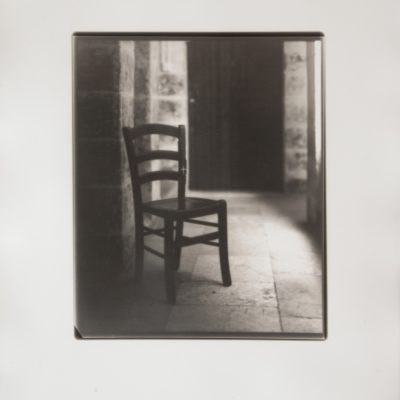 Unknown future, Covid, Silver Gelatin, Fotographija, Alan Falzon, Chair, Rosary beads, Pray, Darkroom, Hand Printed